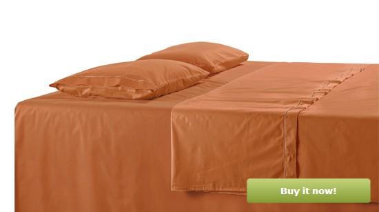 Burnt Orange Bedding