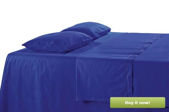 Dark Blue Bedding