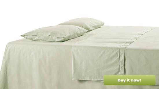 Light Sage Bedding