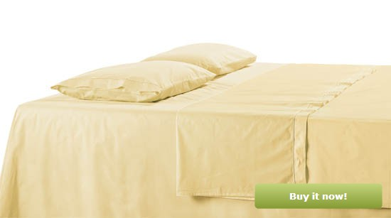 Light Yellow Bedding