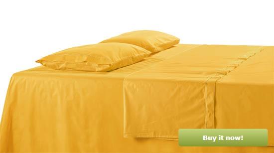 Mustard Bedding