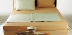 sage camel bed