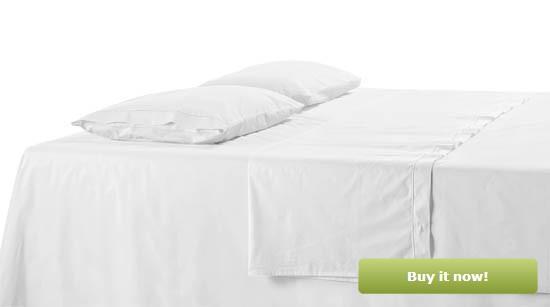White Bedding
