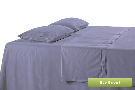 Blueberry Sateen Sheets