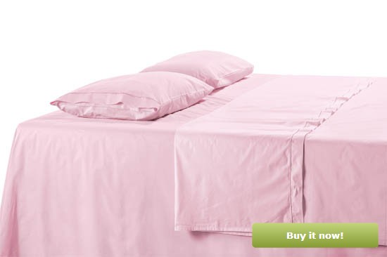 Pink Sateen Sheets