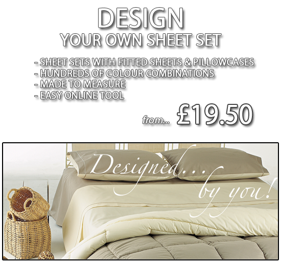 Made to Measure Bed Sheets