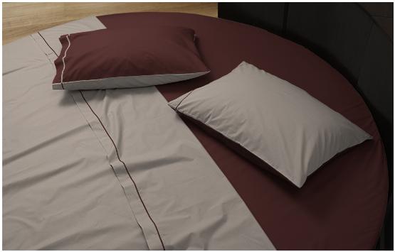 sheet set round bed 1