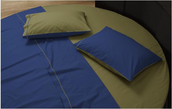 Round bedding