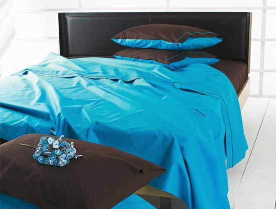 lenzuola matrimoniali azzurro turchese