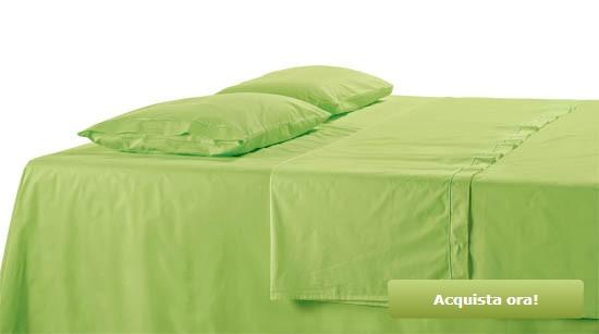 Lenzuola Verdi
